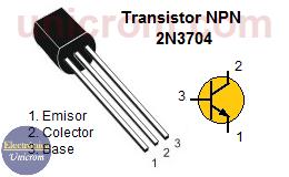 Transistor NPN 2N3704