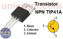 Transistor NPN TIP41A