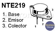 Transistor PNP NTE219