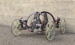 VertiGo. Robot de Disney que sube por las paredes